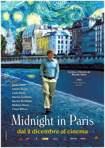 Midnight in Paris, il nuovo film di Woody Allen al cinema il 2 dicembre