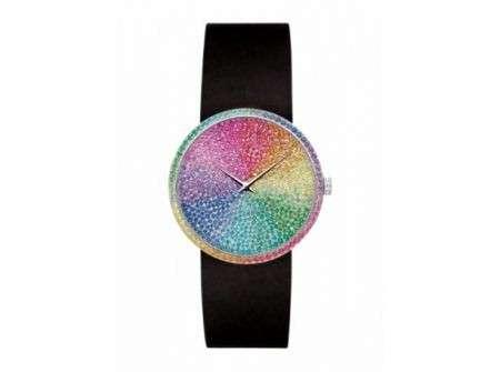 """L'orologio più lussuoso è """"La D de Dior"""", con ben 787 pietre preziose"""