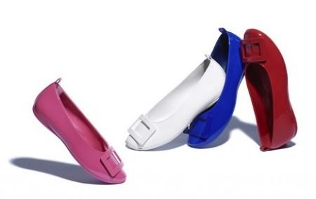 Roger Vivier crea scarpe per bambine