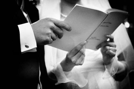 Lo scambio delle promesse nel matrimonio classico