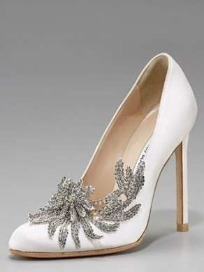 Scarpe da sposa firmate Manolo Blahnik per Bella in Breaking Dawn