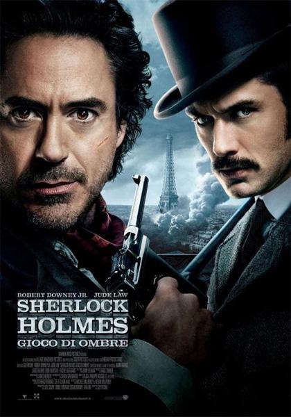Sherlock Holmes 2, Gioco di ombre, al cinema il nuovo film con Robert Downey Jr.