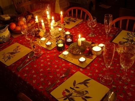 Addobare la tavola e la casa per Capodanno 2012