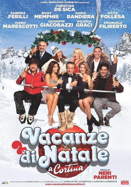 Film natalizi, il cinepanettone di Cristian De Sica 'Vacanze di Natale a Cortina'