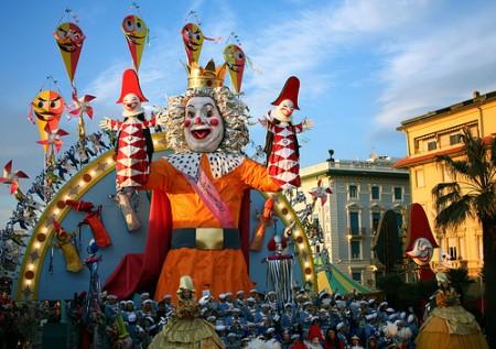 Carnevale di Viareggio 2012, tutti gli appuntamenti da non perdere