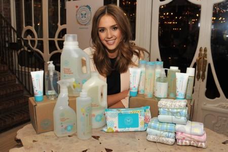 Jessica Alba prodotti eco friendly