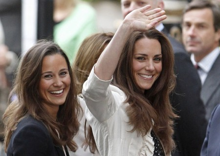 Kate e Pippa Middleton sono le più belle, per le inglesi nessuna celebrità le batte