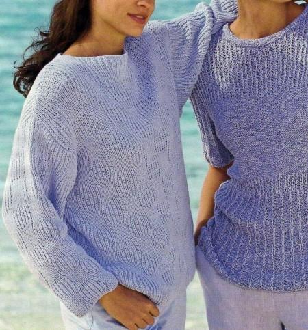 Lavori a maglia, creare un pullover con motivo a scacchiera