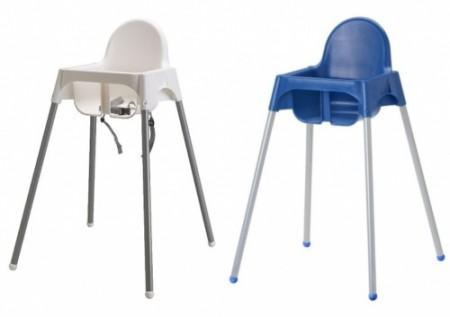 Seggioloni Ikea difettosi, un milione di pezzi ritirati dal mercato