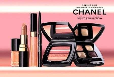 chanel make up harmonie de printemps