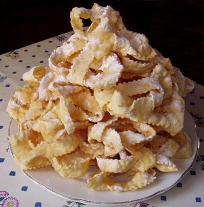 La ricetta light per Carnevale 2012 delle chiacchiere al forno