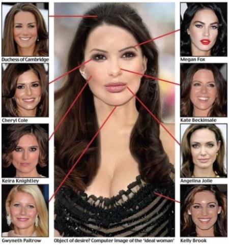 La donna perfetta? E' un mix delle star più sensuali del mondo
