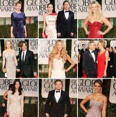 Red carpet stellare per i Golden Globes 2012, ecco i look delle dive