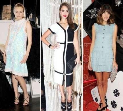 """I look delle dive alla mostra di Chanel """"Numéros Privés"""" a Las Vegas"""
