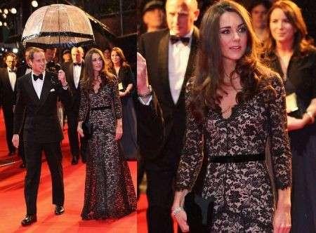"""Kate Middleton alla premiere di """"War Horse"""" per il suo compleanno"""