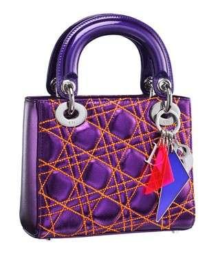 Anselm Reyle per Christian Dior, le borse della capsule collection