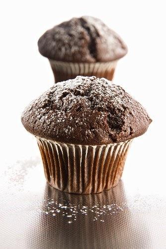 Muffin al triplo cioccolato, la merenda perfetta!