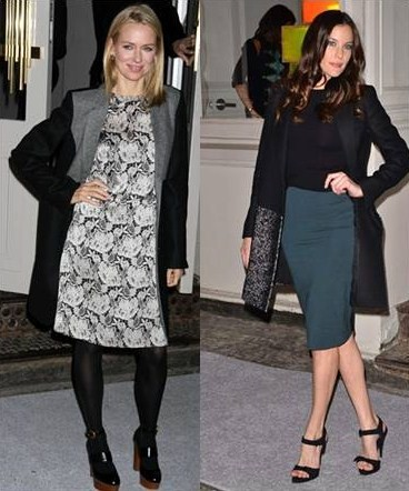 Liv Tyler e Naomi Watts all'apertura dello store Stella McCartney a Soho, ecco i loro look