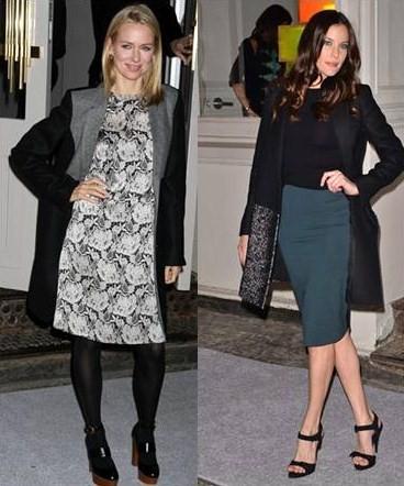 Liv Tyler e Naomi Watts all'apertura dello store Stella McCartney a Soho, ecco i loro look