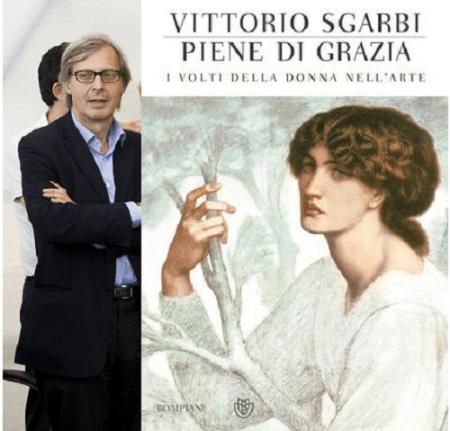Nuovo libro di Vittorio Sgarbi, 'Piene di grazia. I volti della donna nell'arte'