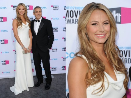 Stacy Keibler in Armani Privè, elegante e chic