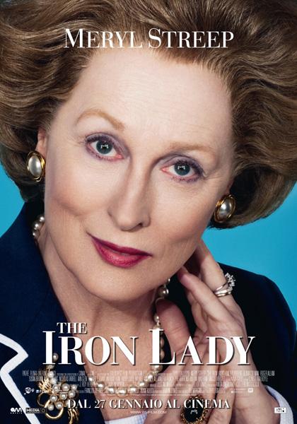 Film in uscita al cinema, The Iron Lady dove Meryl Streep è Margareth Thatcher