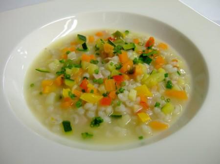 Ricette light con il Bimby: zuppa di orzo e verdurine