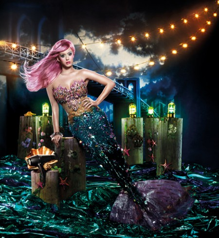 Piastra Ghd: Katy Perry diventa una seducente sirena