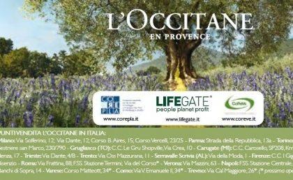 """L'Occitane e Lifegate per il progetto """"La bellezza salverà il mondo"""""""