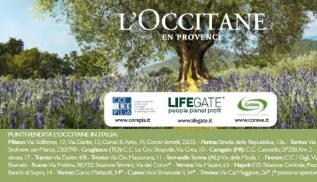 L Occitane lifegate
