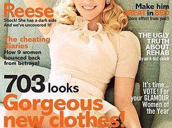 Reese Witherspoon su Glamour: boccoli chic e look retrò da copiare