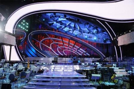 Sanremo 2012 scenografia