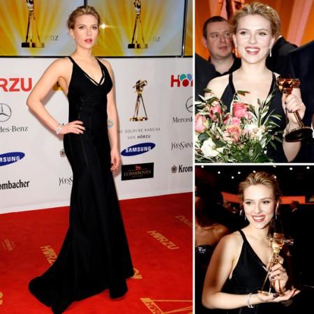 Scarlett Johansson splendida in Calvin Klein incanta Berlino
