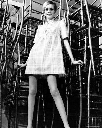 Twiggy anni sessanta.carnevale