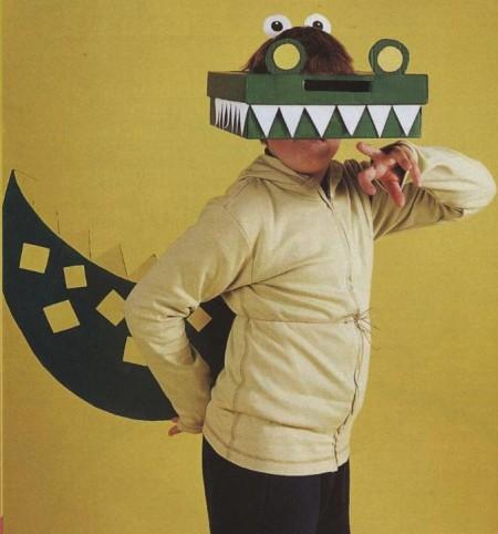 Costumi di carnevale fai da te: un vestito da coccodrillo