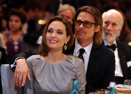 Abito da sera Ralph & Russo per Angelina Jolie al Cinema for Peace Gala