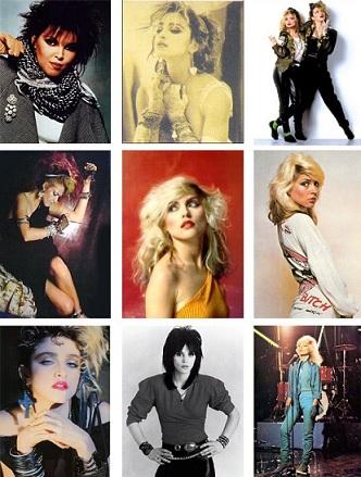 anni 80 look carnevale