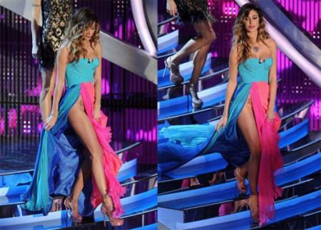 L'abito di Belen a Sanremo 2012, parla lo stilista Fausto Puglisi