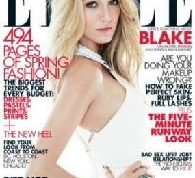 Blake Lively posa per Elle Magazine in look firmati Gucci, Michael Kors e Victoria Beckham