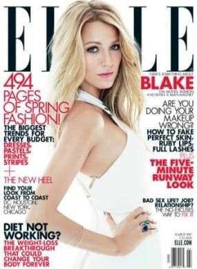 Blake Lively posa per Elle Magazine in look firmati Gucci, Michael Kors e Victoria Beckham