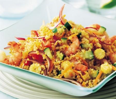 La ricetta light e vegetariana del bulgur alle verdure
