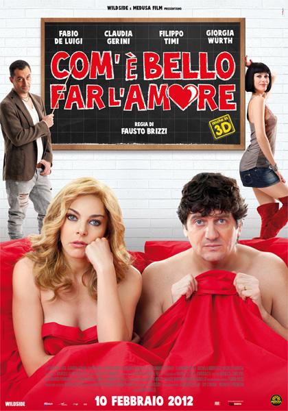 Film in uscita al cinema per San Valentino 2012, 'Com'è bello far l'amore'