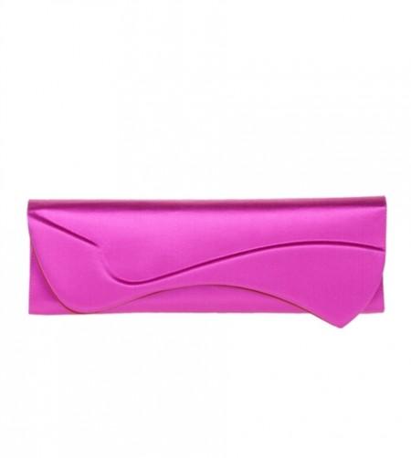 La nuova clutch Pigalle di Christian Louboutin in colori pastello, il modello fucsia