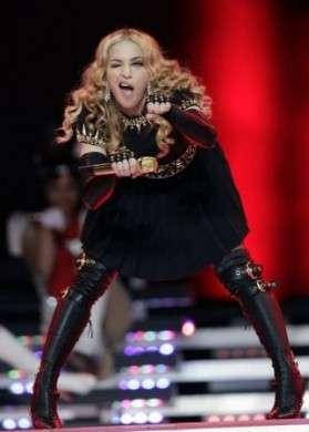 Madonna regina (egizia) del Super Bowl. Le foto dell'esibizione