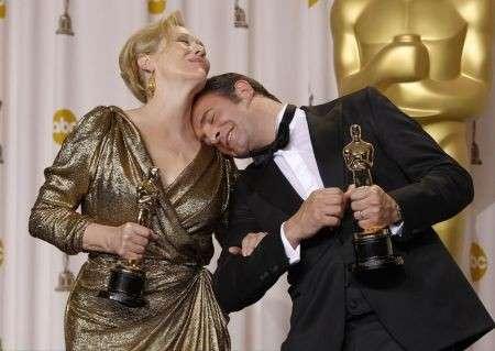Oscar 2012: trionfano Meryl Streep, Octavia Spencer, Jean Dujardin e il film The Artist