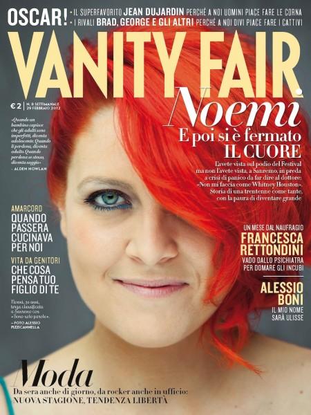 Un attacco di panico per la cantante Noemi a Sanremo