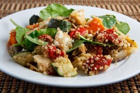 Ricette light vegetariane: quinoa con le verdure