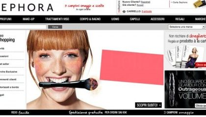 Arriva lo store online di Sephora anche in Italia, per tutte le beauty addicted
