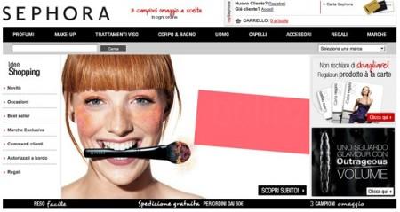 Arriva lo store online di Sephora anche in Italia, per tutte le beauty addicted