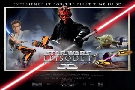 Film al cinema, Star Wars – Episode 1 finalmente in 3D